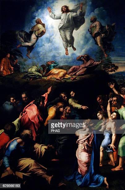 Raphael Italian painter The Transfiguration of Christ 15161520 Pinacoteca Vaticana Vatican City