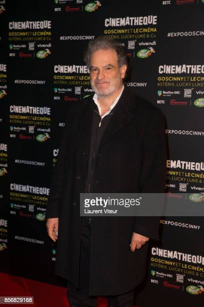 Raphael Mezrahi attends 'Goscinny et le Cinema Asterix Luky luke et Cie' Exhibition at Cinematheque Francaise on October 2 2017 in Paris France