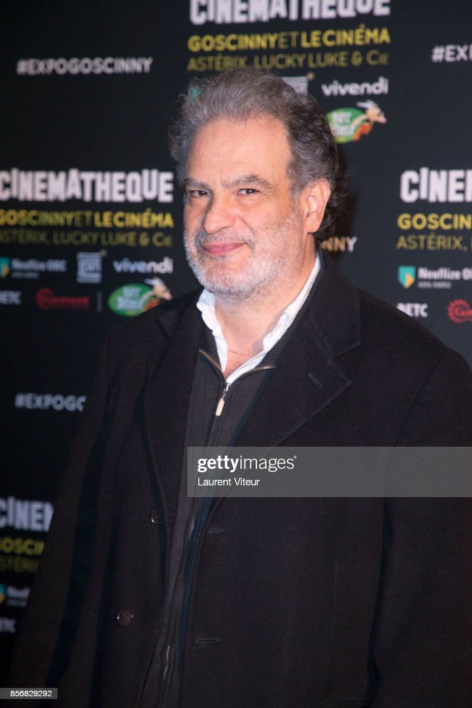Goscinny Et Le le Cinema - Asterix Lucky Luke Et Cie  : Photocall At La Cinematheque In Paris