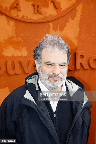 Raphael Mezrahi attends the 2016 French Tennis Open Day Two at Roland Garros on May 23 2016 in Paris France