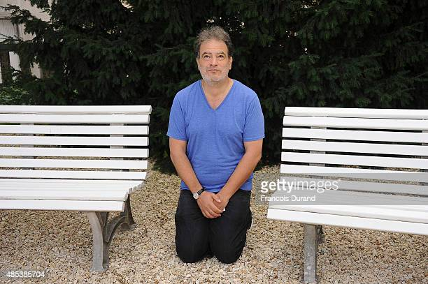 Raphael Mezrahi attends the 8th Angouleme FrenchSpeaking Film Festival on August 27 2015 in Angouleme France