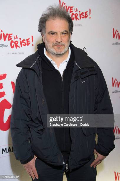 Raphael Mezrahi attends the 'Vive La Crise' Paris Premiere at Cinema Max Linder on May 2 2017 in Paris France