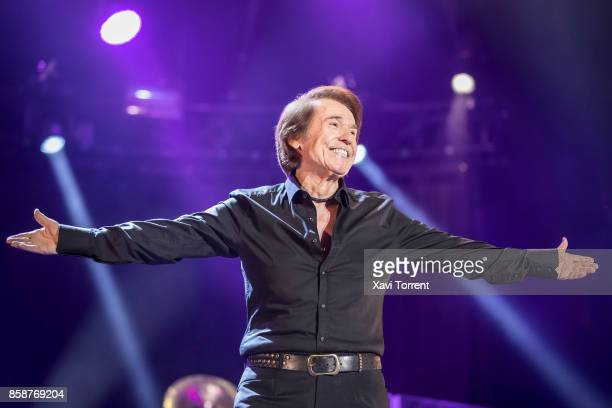 Raphael performs in concert at Palau Sant Jordi on October 7 2017 in Barcelona Spain