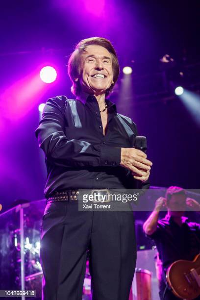 Raphael performs in concert at Palau Sant Jordi on September 28 2018 in Barcelona Spain