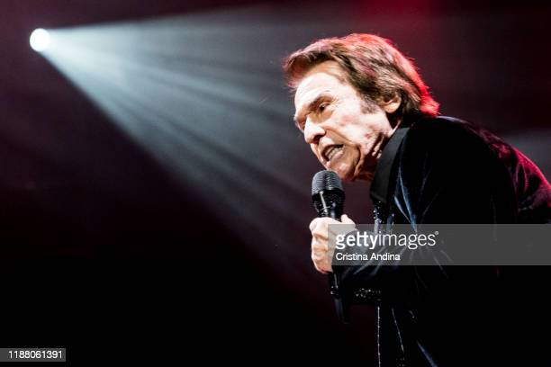 Raphael performs on stage at Coliseum A Coruña on November 16 2019 in A Coruna Spain
