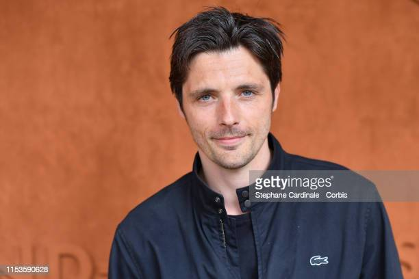 Raphael Personnaz attend the 2019 French Tennis Open Day Eight at Roland Garros on June 03 2019 in Paris France