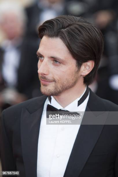 Raphael Personnaz attends 'Inside Llewyn Davis' Premiere during the 66th Annual Cannes Film Festival at Palais des Festivals on May 19 2013 in Cannes...