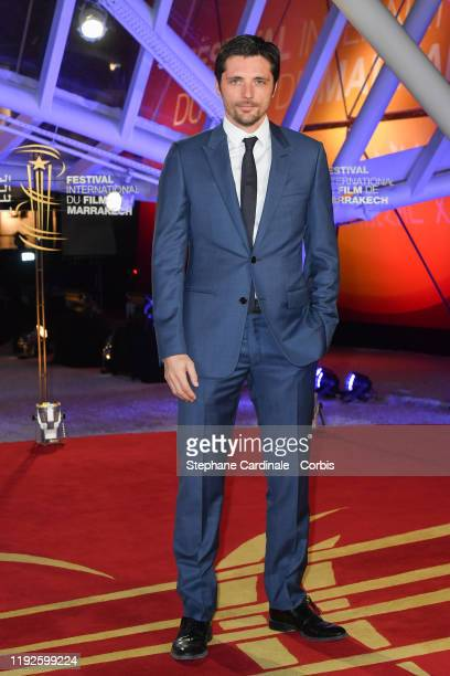 Raphael Personnaz attends the closing ceremony during the 18th Marrakech International Film Festival on December 07 2019 in Marrakech Morocco
