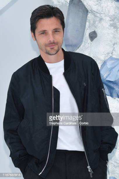 Raphael Personnaz attends the Dior Homme Menswear Spring Summer 2020 show as part of Paris Fashion Week on June 21 2019 in Paris France