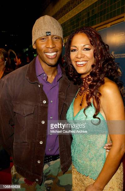 Raphael Saadiq and Sheila E during LA Chapter of The Recording Academy with EIF Celebrate the Music of Earth Wind Fire at GRAMMY Jam 2004 Red Carpet...