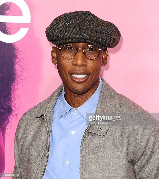 Raphael Saadiq attends the premiere of 'Insecure' at Nate Holden Performing Arts Center on October 6 2016 in Los Angeles California