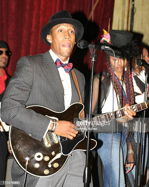 Raphael Saadiq during Raphael Saadiq Tony Toni Tone and Joi Performances At SOB at SOB's in New York City New York United States