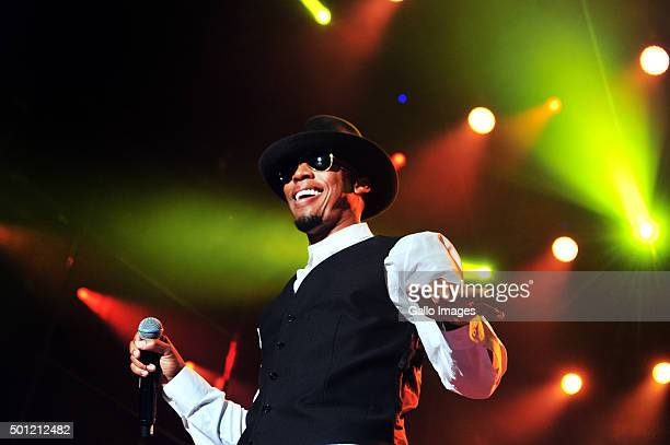 Raphael Saadiq performs at the BET Experience Festival at Ticketpro Dome on December 12 2015 in Johannesburg South Africa RnB stars Mary J Blige and...