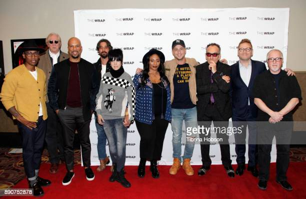Raphael Saadiq T Bone Burnett Common Ryan Bingham Diane Warren Taura Stinson Ryan Tedder Elvis Costello Kenneth Branagh and Patrick Doyle attend...