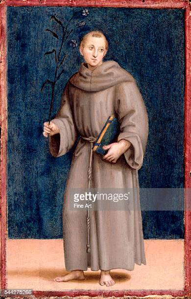 Raphael Saint Anthony of Padua c 1502 oil on panel 256 x 164 cm Dulwich Picture Gallery London
