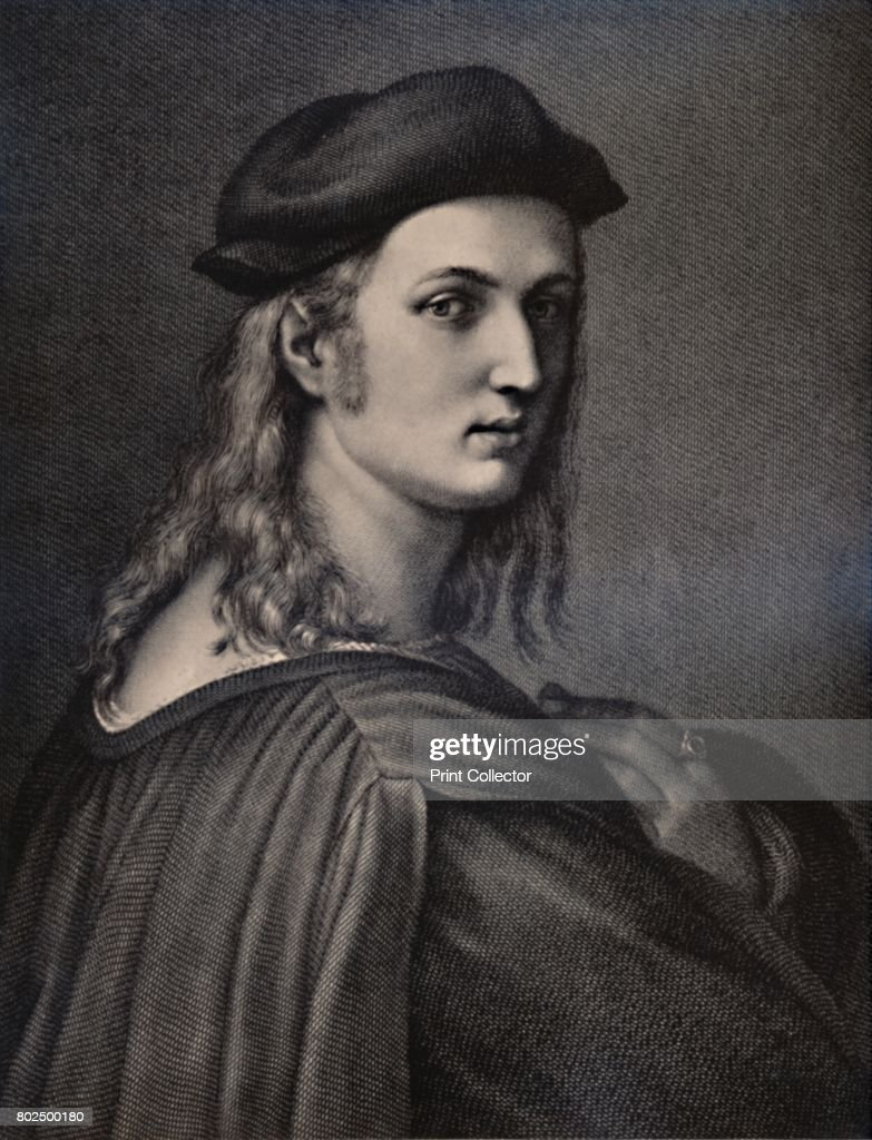 Raphael Sanzio 1483 1520 Italian Renaissance Artist 18th Or 19th Century