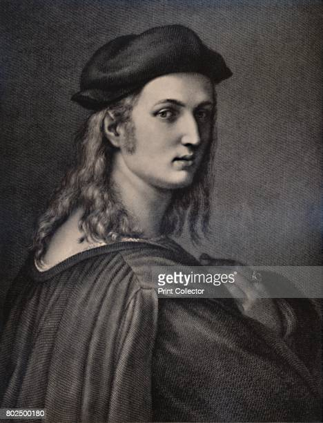 Raphael Sanzio Italian Renaissance artist 18th or 19th century From A Collection of Engraved Portraits Exhibited by the Late James Anderson Rose at...