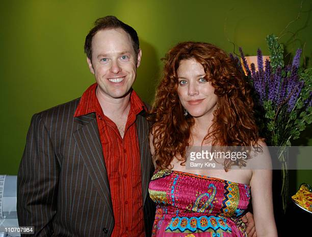 Raphael Sbarge and Lisa Akey during Sugar Baby Kid's Boutique Store Opening at Sugar Baby in Los Angeles California United States