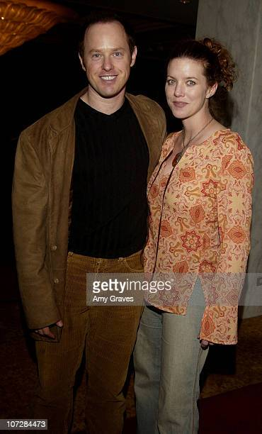 Raphael Sbarge and wife Lisa Akey during Lullabies and Luxuries Luncheon Benefiting Caring for Children and Families with AIDS at Regent Beverly...