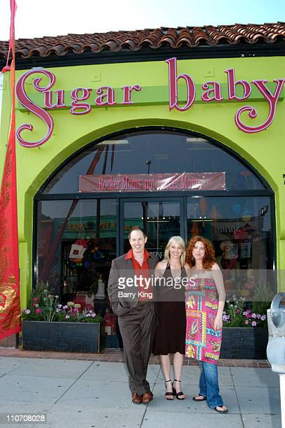 Raphael Sbarge Christina Sitkevich and Lisa Akey owners of Sugar Baby