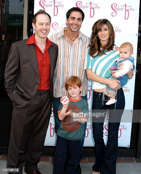 Raphael Sbarge Michael Bergin Joy Tilk and children Jesse and Alana