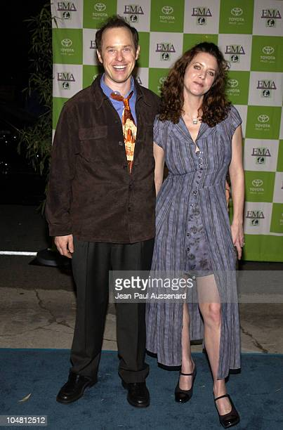 Raphael Sbarge wife Lisa Akey during 12th Annual Environmental Media Awards at Wilshire Ebell Theatre in Los Angeles California United States