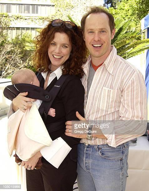 Raphael Sbarge with wife Lisa Akey daughter Gracie