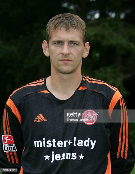 Raphael Schaefer during the Team Presentation of 1 FC Nuremberg for the Bundesliga Season 2005 2006 on July 1 2005 in Bad Woerishofen Germany