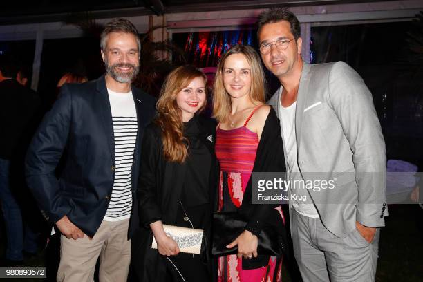 Raphael Schneider Jasmin von der Born Denise Zich and Andreas Elsholz during the Raffaello Summer Day 2018 to celebrate the 28th anniversary of...