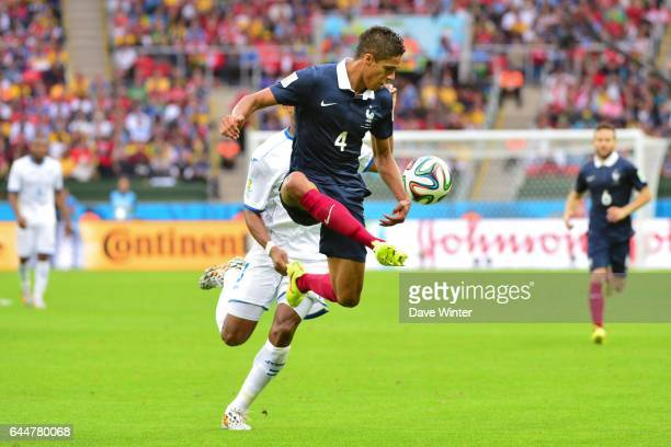 Raphael VARANE France / Honduras Coupe du Monde 2014 Photo Dave Winter / Icon Sport
