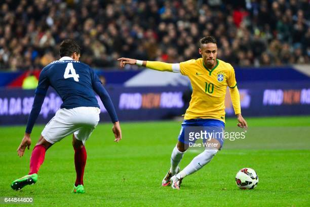 NEYMAR / Raphael VARANE France / Bresil Match Amical Photo Dave Winter / Icon Sport