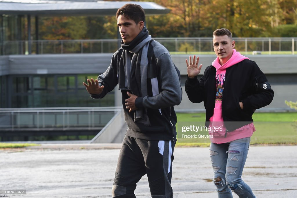France Soccer Team : Training Session : News Photo