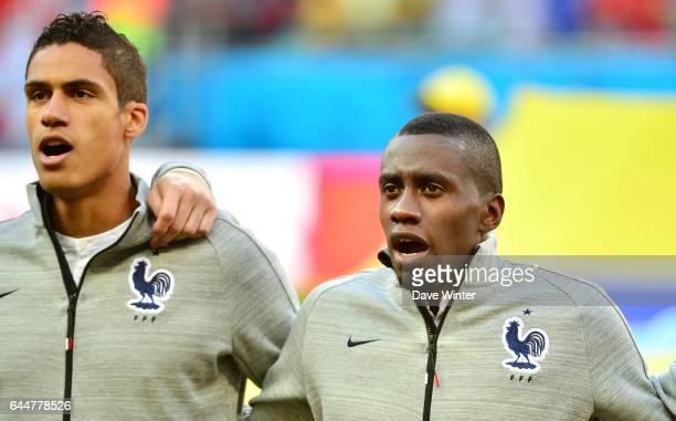 Raphael VARANE / Blaise MATUIDI Suisse / France Coupe du Monde 2014 Salvador Photo Dave Winter / Icon Sport
