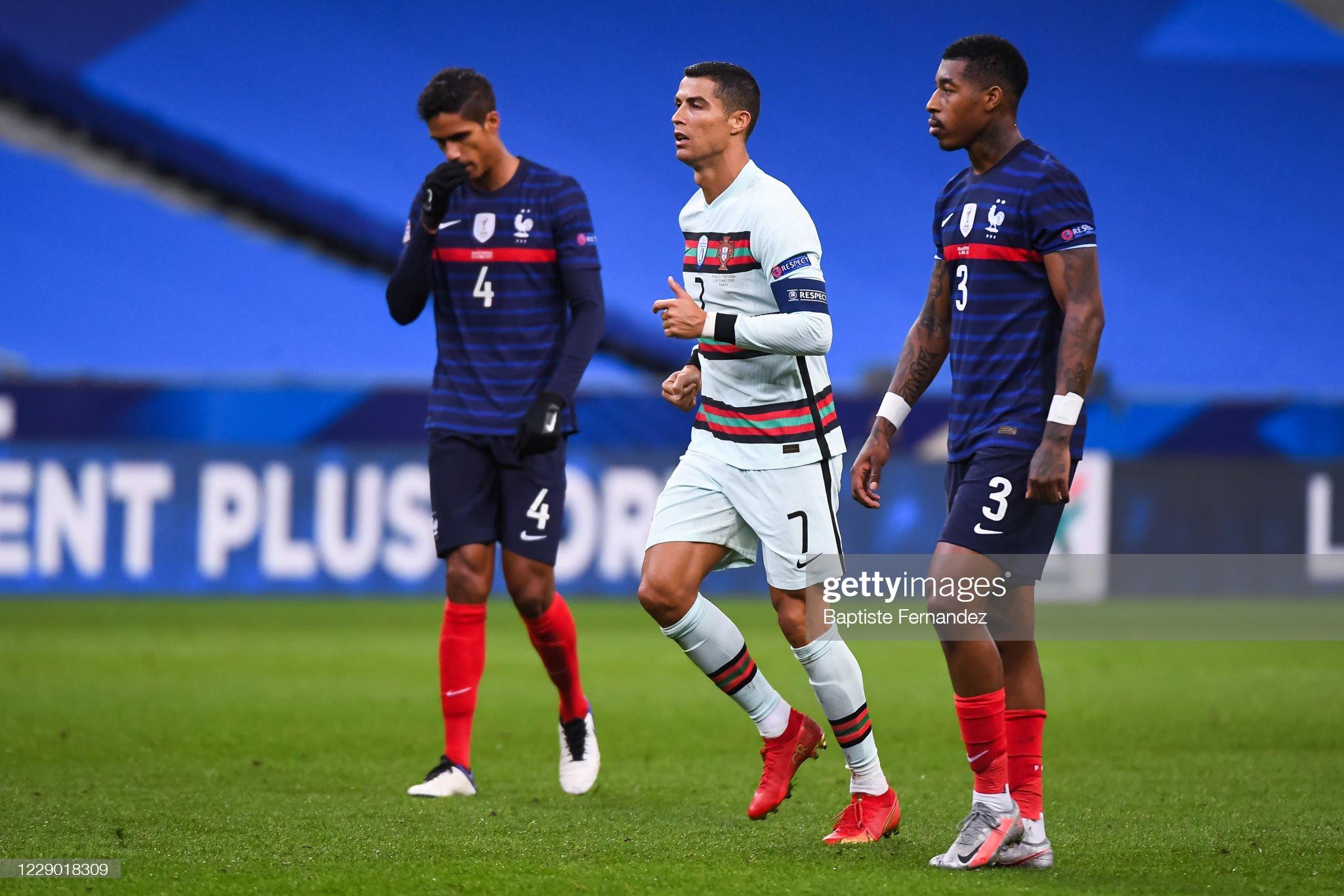 France v Portugal - Nations League - Group 3 : News Photo