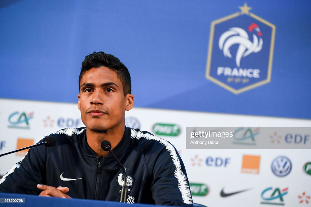 Team France - Press Conference - FIFA World Cup 2018