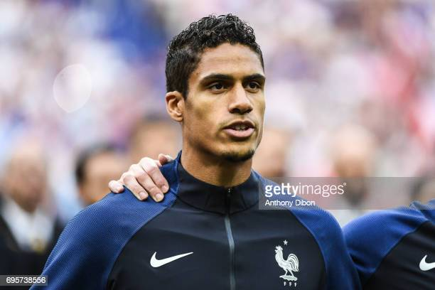 Raphael Varane of France during the International friendly match between France and England at Stade de France on June 13, 2017 in Paris, France.