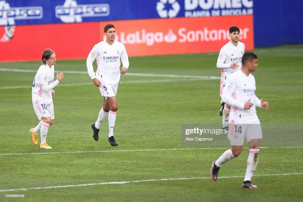 SD Huesca v Real Madrid - La Liga Santander : News Photo