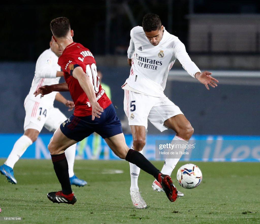 Real Madrid v C.A. Osasuna - La Liga Santander : News Photo