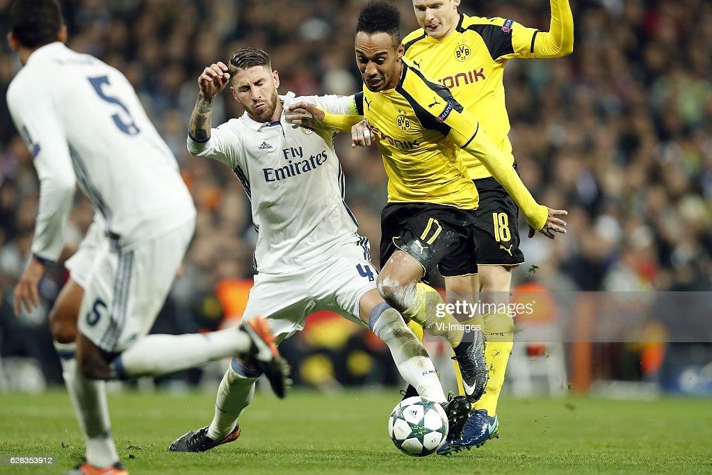 "UEFA Champions League""Real Madrid v Borussia Dortmund"" : ニュース写真"