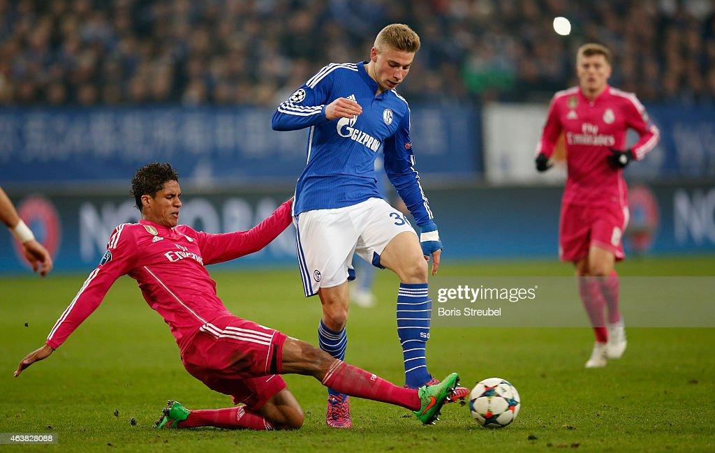 FC Schalke 04 v Real Madrid - UEFA Champions League Round of 16 : News Photo