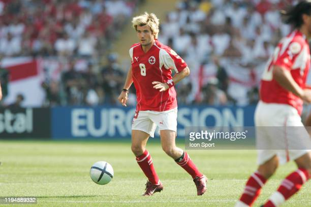 Raphael WICKY of Switzerland during the European Championship match between England and Switzerland at Estadio Cidade de Coimbra, Coimbra, Portugal...
