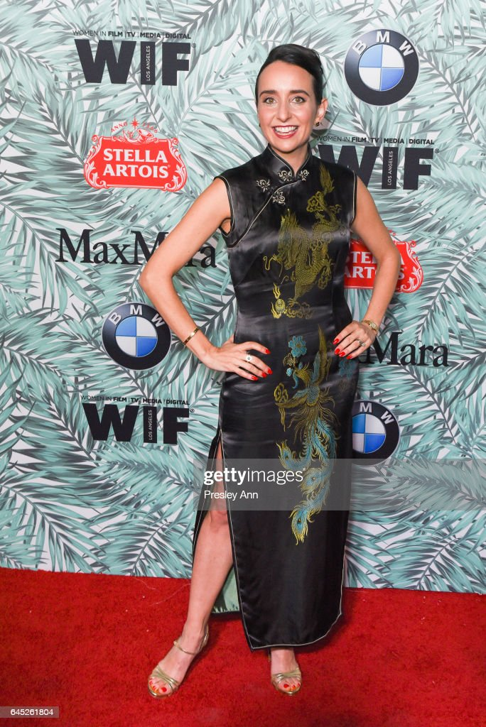 Raphaela Neihausen attends the 10th Annual Women In Film Pre-Oscar Cocktail Party - Arrivals at Nightingale Plaza on February 24, 2017 in Los Angeles, California.