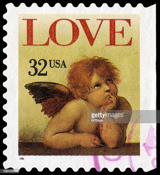 raphael's sistine madonna love cherub - sistine madonna stock pictures, royalty-free photos & images