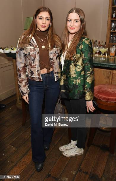 """Raphi and Molly Whitehall attend an exclusive screening of """"Ali & Nino"""" at Soho House on March 5, 2018 in London, England."""