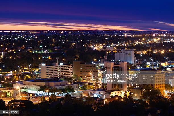 rapid city, south dakota, city view - south dakota stock pictures, royalty-free photos & images