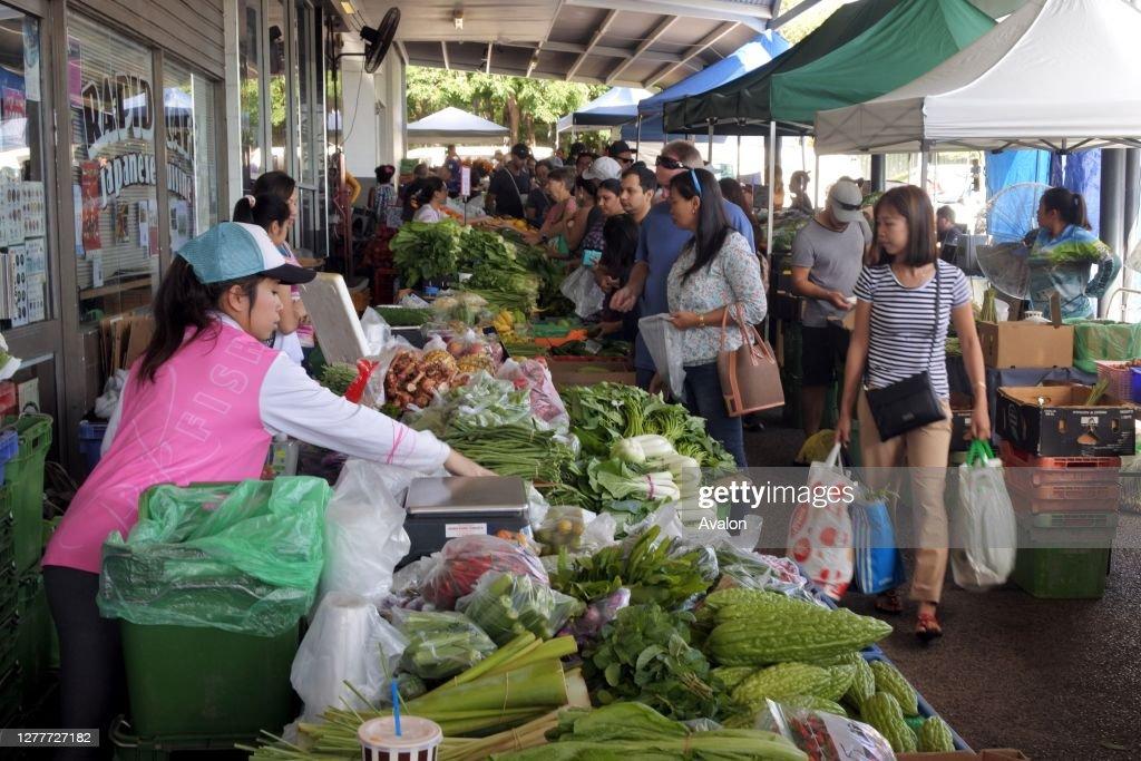 Rapid Creek Sunday Market in Darwin Northern Territory of Australia. : News Photo