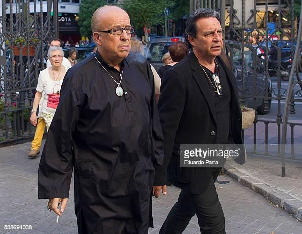 Rappel attends the Marquesa de San Eduardo funeral at La Concepcion de nuestra Senora church on June 7 2016 in Madrid Spain