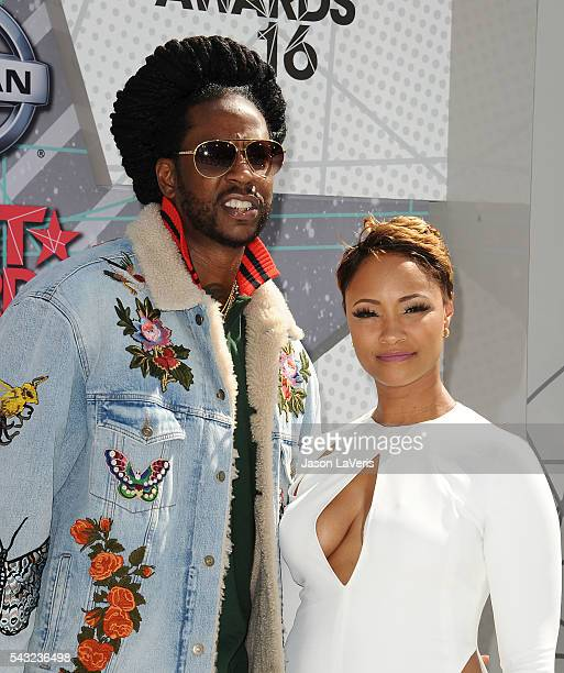 Rapper 2 Chainz and guest attend the 2016 BET Awards at Microsoft Theater on June 26 2016 in Los Angeles California