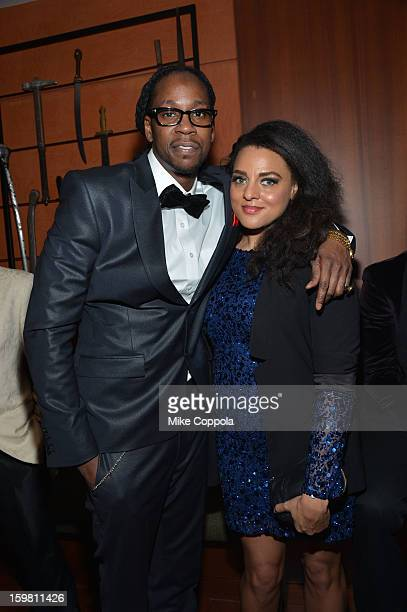 Rapper 2 Chainz and Marsha Ambrosius attend The Hip Hop Inaugural Ball II sponsored by Heineken USA at Harman Center for the Arts on January 20, 2013...