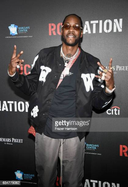 Rapper 2 Chainz attends 2017 Roc Nation PreGrammy Brunch at a private residence on February 11 2017 in Los Angeles California